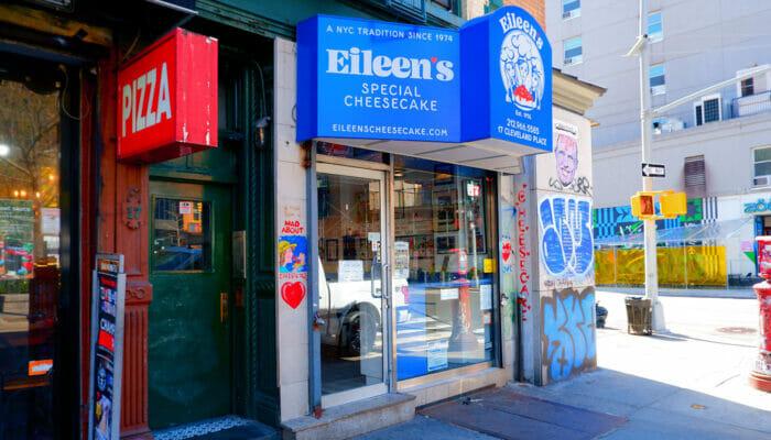 Der beste Käsekuchen in New York -Eileen's Special Cheesecake
