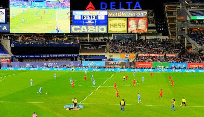 MLS Soccer in New York