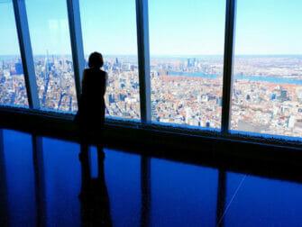 New York impft Touristen - One World Trade in New York
