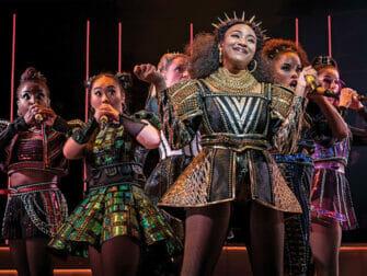 SIX on Broadway Tickets - Die Show
