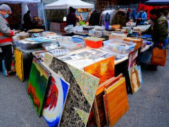 Flohmärkte in New York - Chelsea Flea Market Manhattan