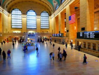 Metro North Railroad in New York - Grand Central in New York