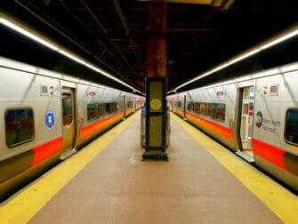 Metro North Railroad in New York - Gleis