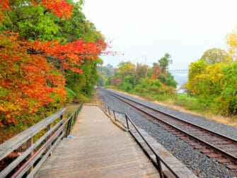 Metro North Railroad in New York - Upstate