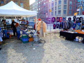 Flohmärkte in New York - Williamsburg Flea Market