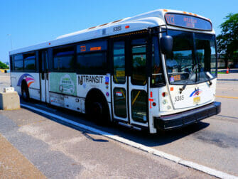 New Jersey Transit in New York - NJ Transit Nahverkehrsbus