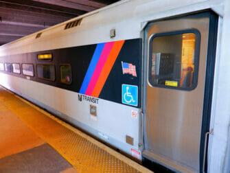 New Jersey Transit in New York - Zug