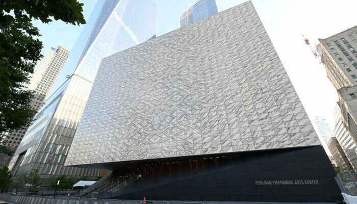 Performing Arts Center in New York – Von außen