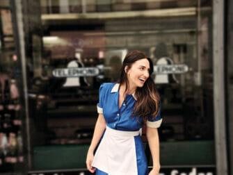 Waitress von Sara Bareilles am Broadway Tickets - Außerhalb des Diners