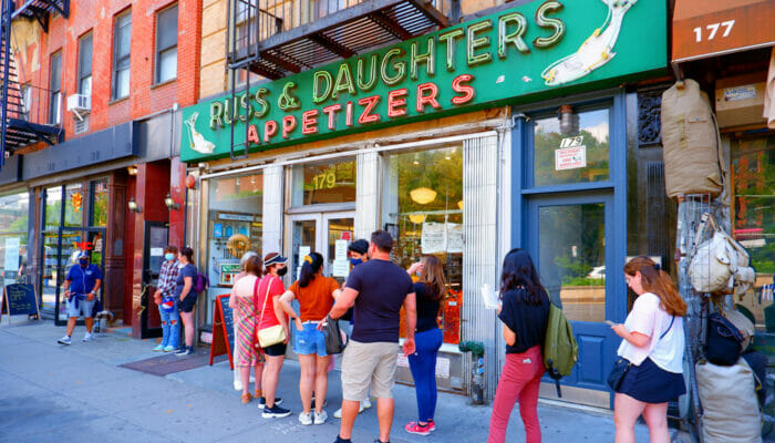 Die besten Bagel in New York - Russ and Daughters