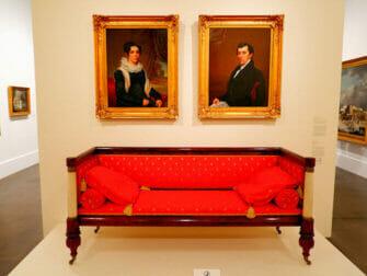 Brooklyn Museum in New York - Amerikanische Kunst