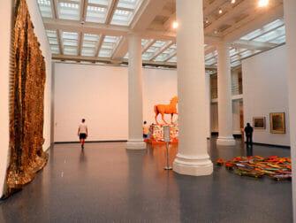 Brooklyn Museum in New York - Im Inneren des Museums