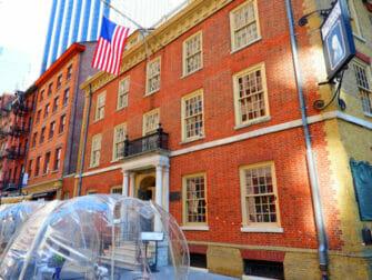Hamilton Touren in New York - Fraunces Tavern