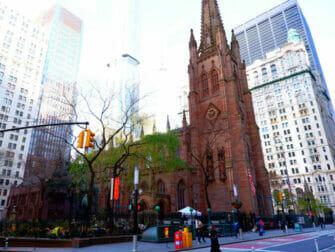 Hamilton Touren in New York - Trinity Church