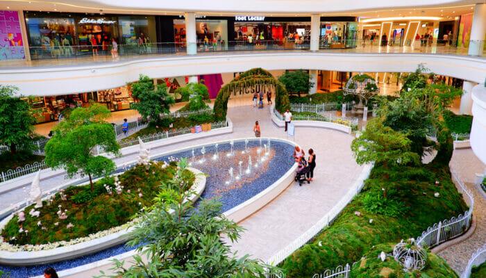 American Dream Mall in der Nähe von New York - Garten