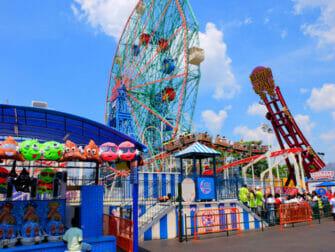 Deno's Wonder Wheel Amusement Park in Coney Island - Attraktionen