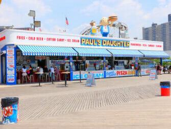 Denos Wonder Wheel Amusement Park in Coney Island - Snack Bar