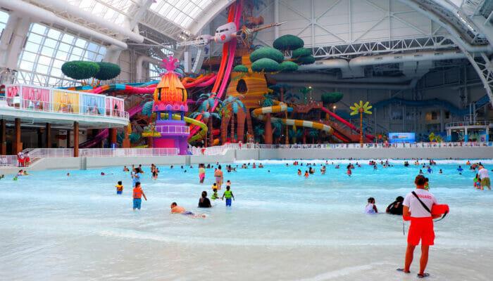 DreamWorks Water Park in der Nähe von New York - Pool