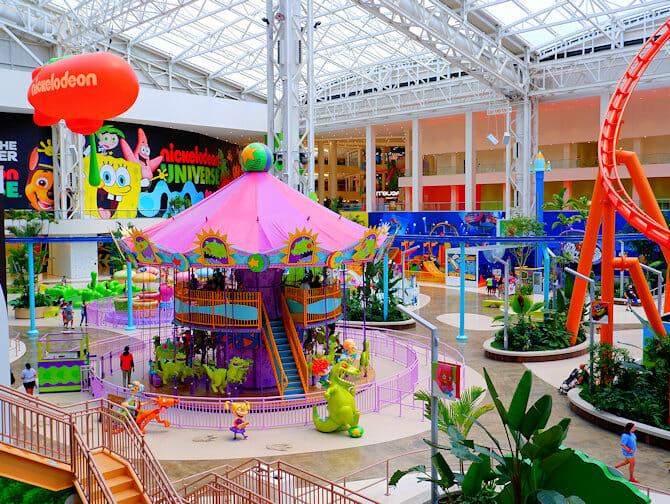 Nickelodeon Universe Amusement Park near New York Tickets
