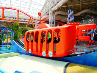 Nickelodeon Universe Vergnügungspark Park in der Nähe von New York Tickets - Fahrt