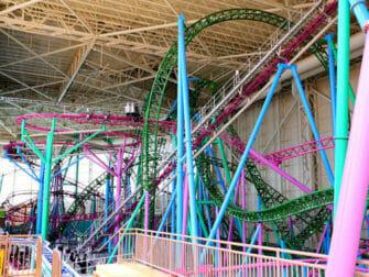 Nickelodeon Universe Vergnügungspark Park in der Nähe von New York Tickets - Achterbahn