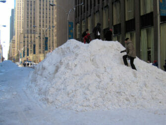 Schnee in New York - Schnee